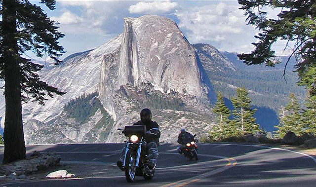 Motorcycle-touring-half-dome