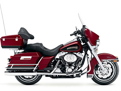 Electra Glide Red