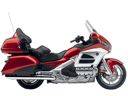 Honda Gold Wing Deluxe - Red