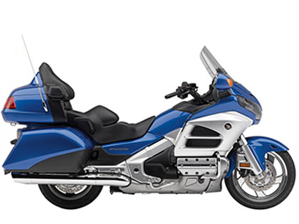 Honda Gold Wing Deluxe Blue