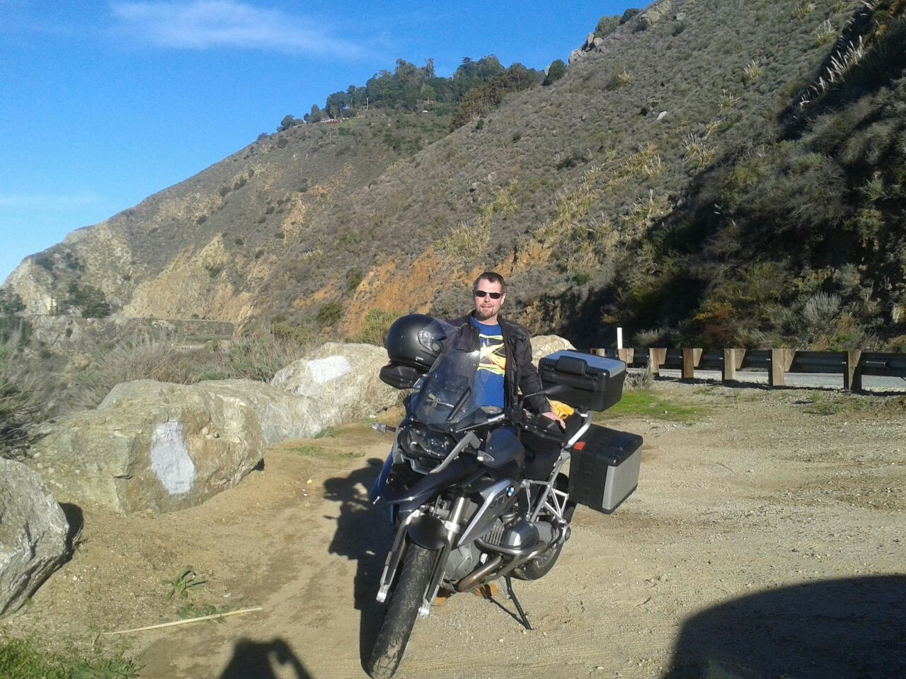 Smooth rental experience: R1200GS to Big Sur - California ...