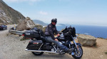 Ultra Classic Electra-Glide Rental overlooking Pacific Ocean