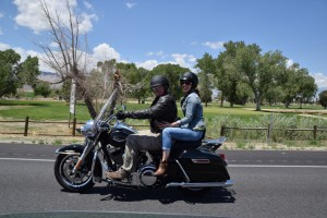 Harley Road King Rental 2 up