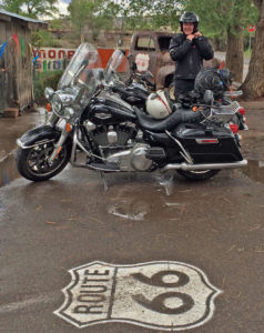 Softail & Road-King Rental on Route 66